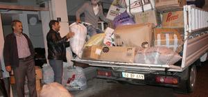 Ünye Müftülüğü'nden Suriyeli Türkmenlere yardım
