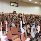 Nusaybin'de çocuklar için tiyatro gösterimi