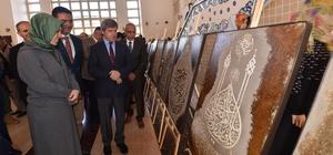 "Ahlat'ta ""Tutkara"" sergisi açıldı"