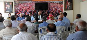 AK Parti Kadirli İlçe Başkanlığı basın toplantısı