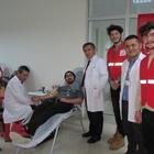 Kavak MYO'da kan bağışı kampanyası