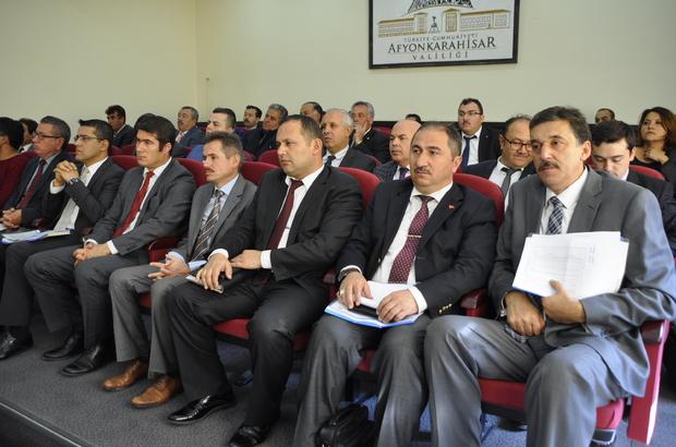 Afyonkarahisar İl Koordinasyon Kurulu toplantısı