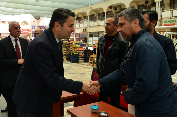 Tokat Belediye Başkanı Eroğlu, esnafları ziyaret etti