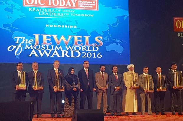 """""""İslam Dünyasının En İyileri"""" ödülü"""