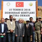 """Mardin'de """"15 Temmuz Demokrasi Şehitleri Hatıra Ormanı"""" oluşturuldu"""