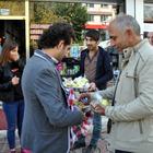 Tunceli'de lokma dağıtımı