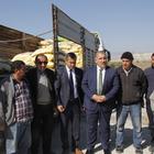 Beypazarı'da çiftçiye tohum desteği