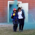 Hastanede deprem ve yangın tatbikatı