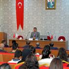 Vali Elban üniversite öğrencileriyle buluştu