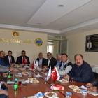 Ilgın'da meslek teşekkülü ve sivil toplum kuruluşlarından toplantı