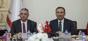 Adalet Bakanlığı ile KKTC arasında iş birliği