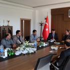 Ayhan'dan Sivas Belediyespor'a ziyaret