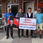 Cumhuriyet Bayramı için Sinop'tan Ankara'ya yürüyor