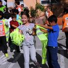 Kadirli'de öğrenciler temizlik kampanyasına katıldı