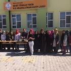 Beyşehir Şehit Türkan Tekin Kız Anadolu İmam Hatip Lisesinde aşure etkiniği