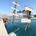 Antalya'da batan tur teknesi yüzeye çıkarıldı