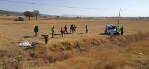 Isparta'da trafik kazası:  2 ölü, 3 yaralı