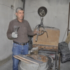 42 yıllık demir ustası, mesleğini yaşatmak istiyor