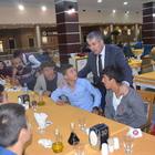 """Başkan Aksoy, """"Tatvan 1514 Spor Kulübü"""" oyuncularıyla buluştu"""