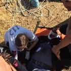 Mardin'de mağarada mahsur kalan 3 kişi kurtarıldı