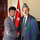 Afganistanlı öğrenciden Vali Yurtnaç'a ziyaret