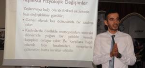 Cizre'de kadın kursiyerlere seminer