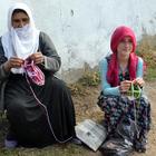 Muşlu kadınların çorap örme geleneği