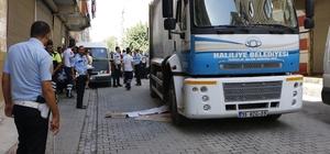 Çöp kamyonunun çarptığı Suriyeli çocuk öldü