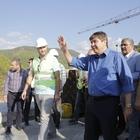 Başkanı Türel, Ak Köprü inşaatını inceledi