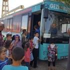 Mardin'de gezici kütüphane köylere gidiyor