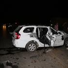Adana'da düğün yolunda kaza: 1 ölü, 10 yaralı