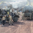 İstanbul'dan gelen askeri sevkiyat Gaziantep'te