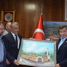 Eski Başbakan Davutoğlu, Ilgın Belediyesini ziyaret etti