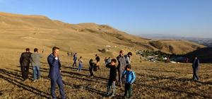 Muş'taki köylüler baz istasyonu istiyor