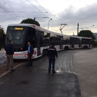 Samsun'un ilk yerli yapım tramvayının testleri yapılıyor