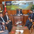Bitlis Barosu Başkanı Özgül'den, Başkan Aksoy'a ziyaret