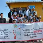 Malatya'da öğrencilere diş sağlığı seti dağıtımı