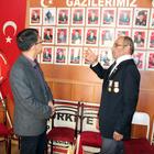 Savunma Ataşesi Kurmay Albay Jaesic Park, Dinar'ı ziyaret etti