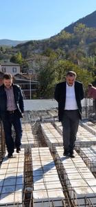 Özbalcı, yeni hizmet binasında incelemelerde bulundu