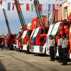 Gaziantep itfaiyesinin araç filosu güçlendi