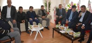 Patnos Esnaf ve Sanatkarlar Odası yeni hizmet binası hizmete açıldı