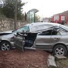 Derince'de trafik kazası: 1 yaralı