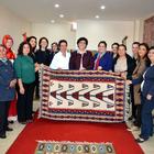 Vali Özkan'ın eşinden ziyaret