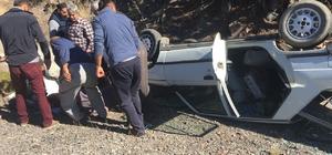 Kızılcahamam'da trafik kazası: 2 yaralı