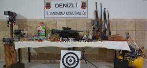 Denizli'de silah kaçakçılığı