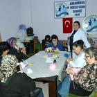 Karamürsel'de el sanatları kursu açıldı