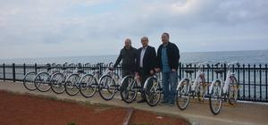 Sağlık Bakanlığından İnebolu'ya 300 bisiklet