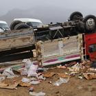 Başkale'de trafik kazası: 1 yaralı