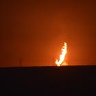 Ağrı'da doğalgaz hattında patlama