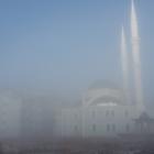 Çaldıran'da yoğun sis
